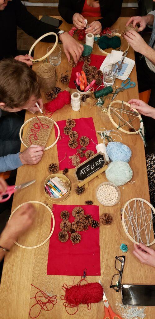 Papangue atelier créatif -activité de Noel