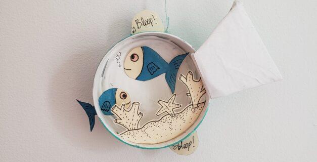 DIY aquarium poisson d'avril