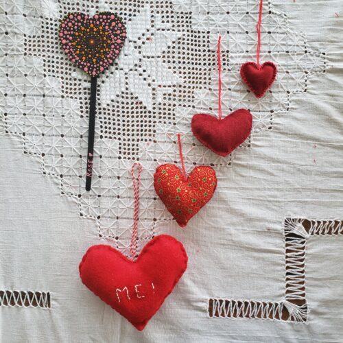 saint valentin papangue atelier créatif idée cadeau DIY