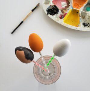 Papangue atelier créatif - activités enfants Pâques DIY - oeufs de Pâques