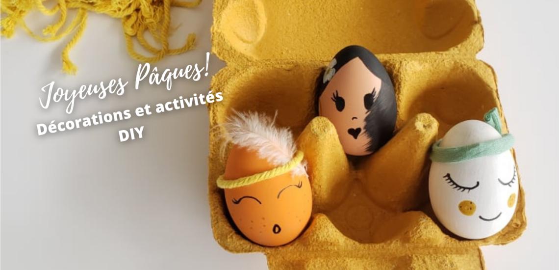 Papangue atelier créatif - activités enfants Pâques DIY