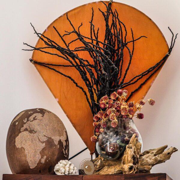 Papangue atelier creatif - Portrait de createurs La Réunion artisanat - Calabassev-lampes fait-main